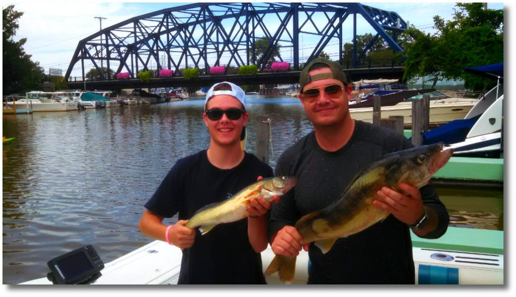 fishing Ohio lake erie romps