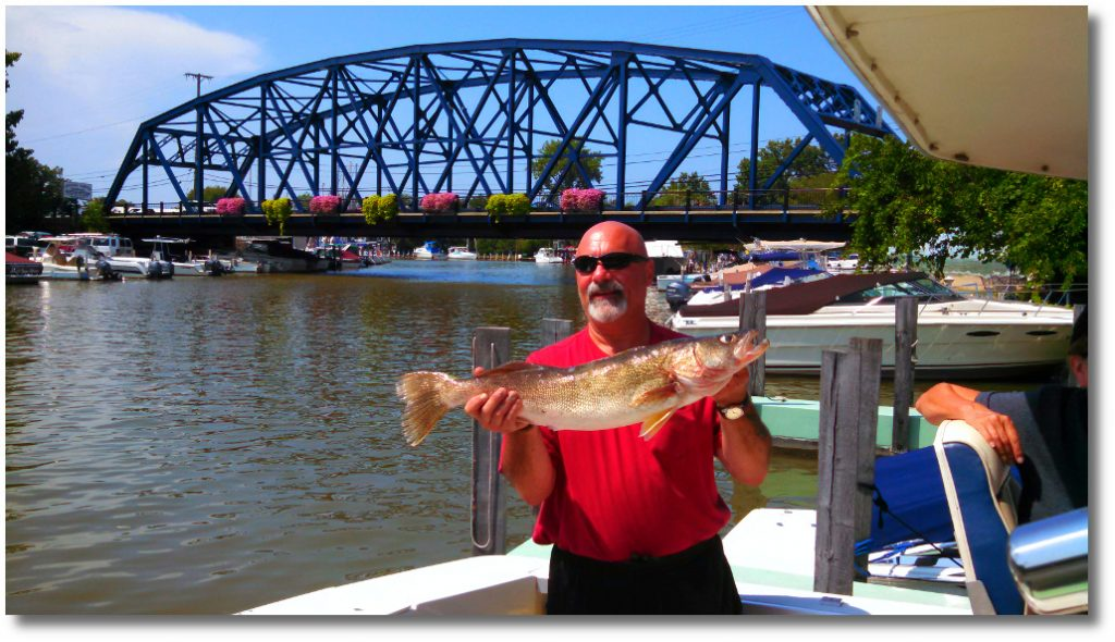 fishing lake erie romps vermilion
