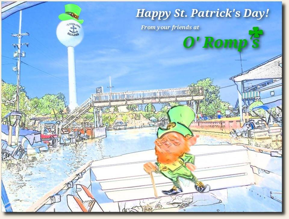St. Patricks Day at Romps