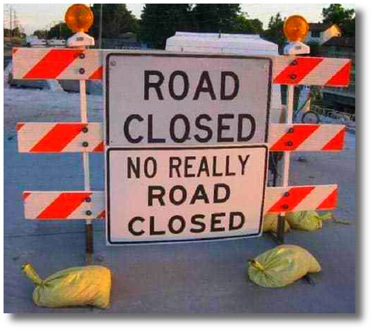 rd closed